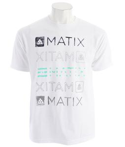 Matix Faded T-Shirt White