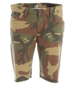 Matix Gripper Twill Shorts Camo