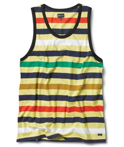 Matix Money Stripe Tank Tank Yellow