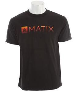 Matix Monolin Fills T-Shirt Black