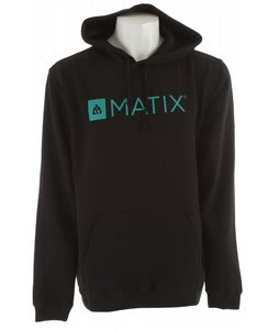 Matix Monolin Hood Hoodie Black