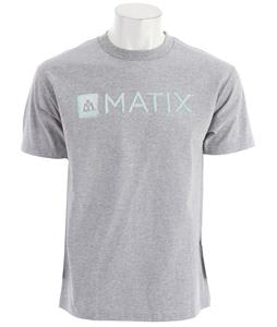 Matix Monolin Ink T-Shirt Athletic Heather