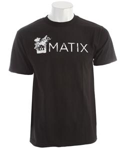Matix Monolin Smoked T-Shirt Black