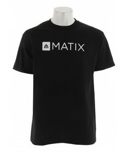 Matix Monolin T-Shirt Black