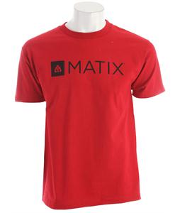 Matix Monolin T-Shirt Cardinal