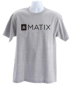 Matix Monolin T-Shirt Heather Grey