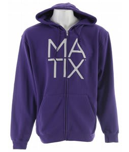 Matix Monostack Hoodie Purple
