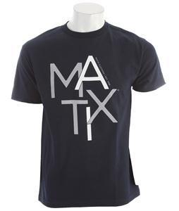 Matix Scatter T-Shirt Navy