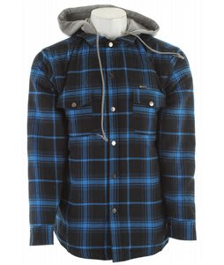 Matix Sleepy Flannel Hoodie Blue