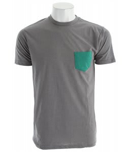Matix Solid Pocket T-Shirt Heather Grey