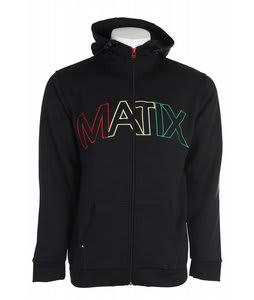 Matix Stakes Hoodie Black