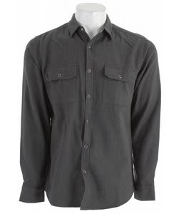 Matix Stotle Flannel Shirt Black