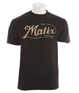 Matix Suds T-Shirt Black