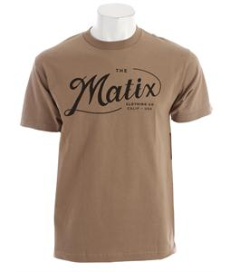 Matix Suds T-Shirt Safari Green