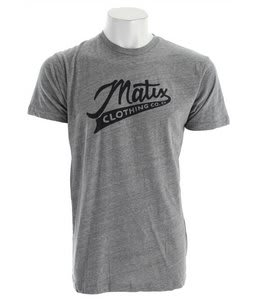 Matix Teamsters T-Shirt Tri Charcoal