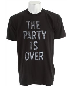 Matix The Party T-Shirt Black