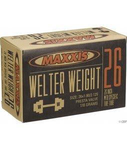 Maxxis Welter Weight Presta Valve Tube 26X1.9-2.125in