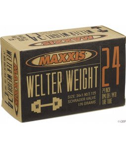 Maxxis Welter Weight Schrader Valve Tube 24X1.9-2.125in