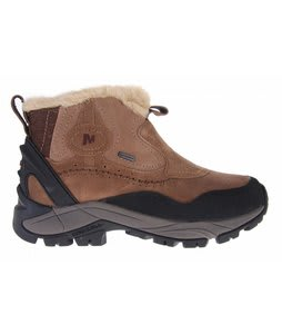 Merrell Sleet 6 Waterproof Boots Dark Earth