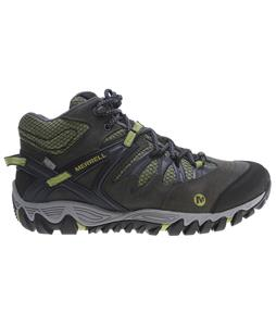 Merrell Allout Blaze Mid Waterproof Hiking Boots Navy/Moss