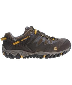 Merrell Allout Blaze Waterproof Hiking Shoes Black Slate/Yellow