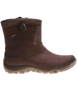 Merrell Dewbrook Zip Waterproof Boots Brown