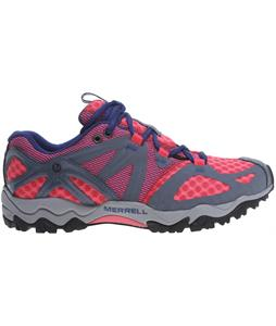 Merrell Grassbow Air Hiking Shoes Pink/Grey