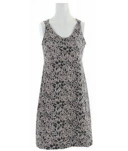 Merrell Lily Dress Black Botanical Floral