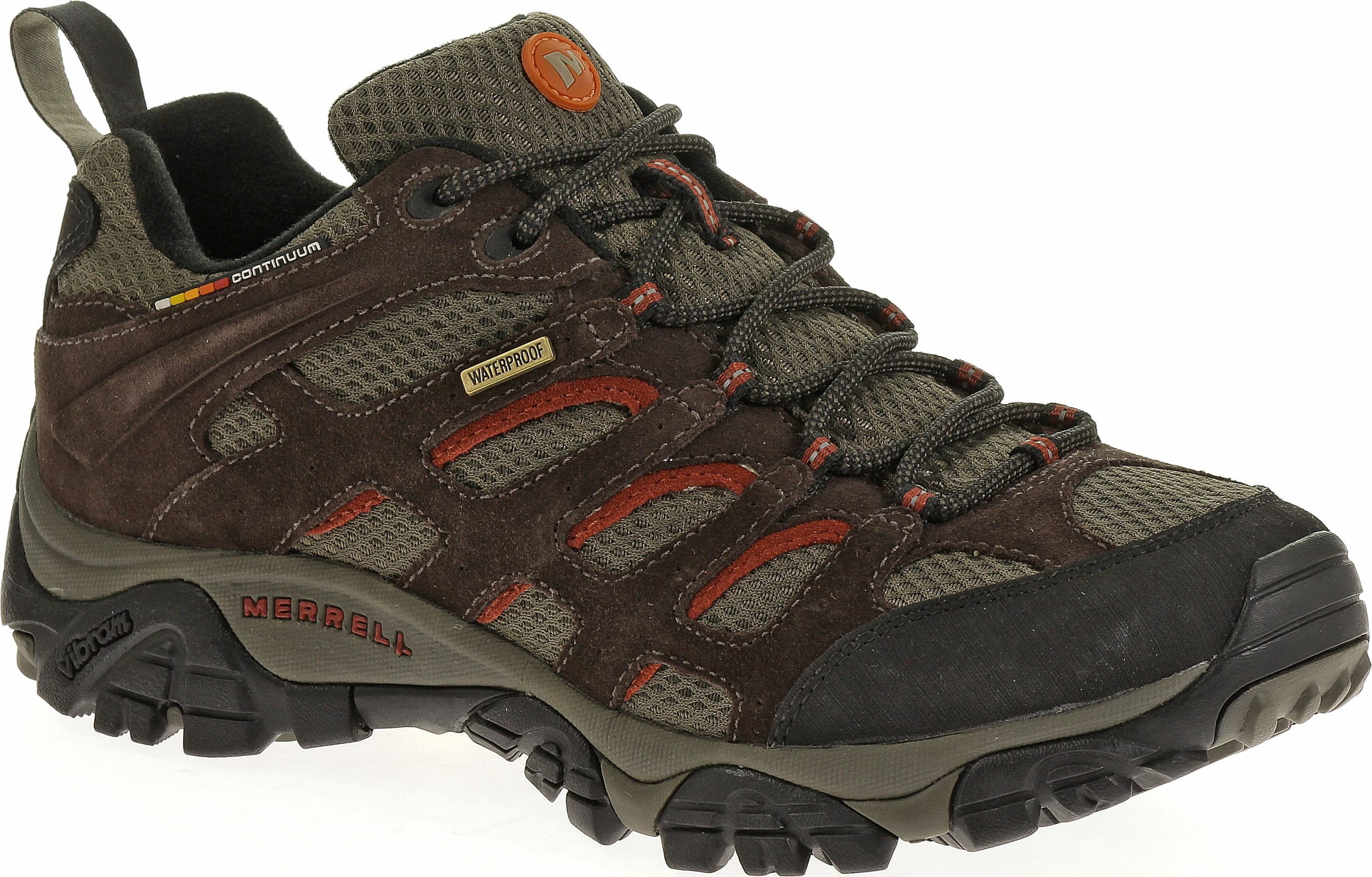 Merrells Womens Waterproof Hiking Shoes