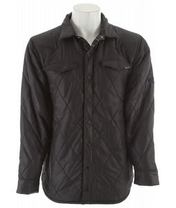 Merrell Orland Insulated Shirt Black/Black Plaid