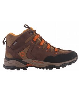 Merrell Pandora Mid Omni Fit Hiking Shoes Coffee/Kangaroo