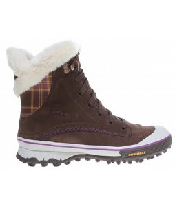 Merrell Pixie Lace Waterproof Boots Bracken