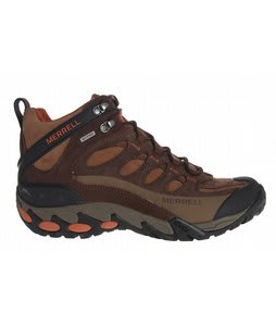 Merrell Refuge Core Mid WP Hiking Shoes Coffee Bean