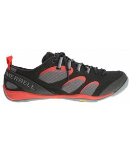 Merrell True Glove Shoes Black/Molton Lava