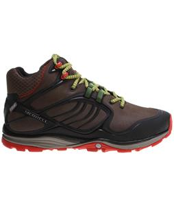 Merrell Verterra Mid Waterproof Hiking Shoes Merrell Stone/Lime