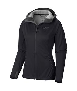 Mountain Hardwear Anselmo Hooded Softshell Black