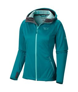 Mountain Hardwear Anselmo Hooded Softshell Emerald