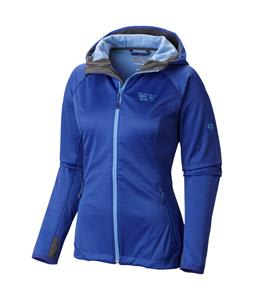 Mountain Hardwear Anselmo Hooded Softshell Nectar Blue