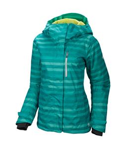 Mountain Hardwear Barnsie Ski Jacket Mayan Green/Dolphin