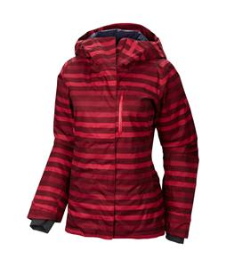 Mountain Hardwear Barnsie Ski Jacket Rich Wine/Bright Rose