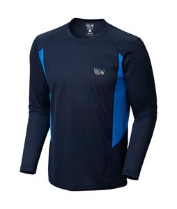 Mountain Hardwear Double Wicked L/S Shirt Collegiate Navy