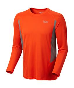 Mountain Hardwear Double Wicked L/S Shirt State Orange