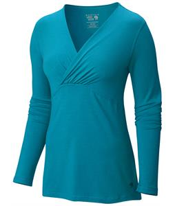 Mountain Hardwear Dryspun L/S V-Neck Shirt