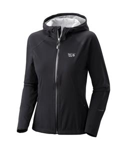 Mountain Hardwear Effusion Hooded Softshell Black