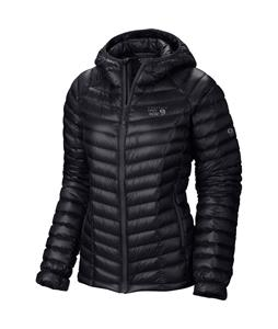 Mountain Hardwear Ghost Whisperer Down Hooded Snowboard Jacket Black