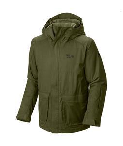 Mountain Hardwear Homeride Quadfecta Ski Jacket Utility Green/Greenscape