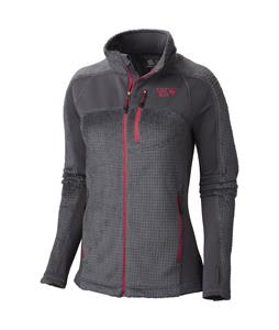 Mountain Hardwear Hoodless Monkey Woman Grid Fleece Graphite/Bright Rose