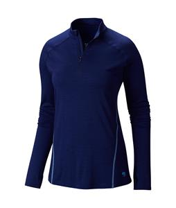 Mountain Hardwear Integral Pro L/S Zip Baselayer Top Aristocrat