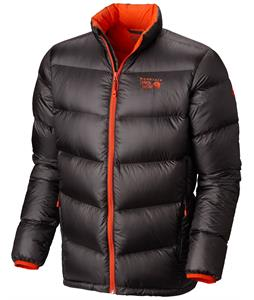 Mountain Hardwear Kelvinator Down Jacket Shark/State Orange