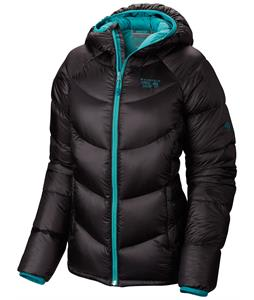 Mountain Hardwear Kelvinator Hooded Snowboard Jacket Black/Mayan Green